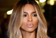 Hair love / Big beautiful hair - major love for Jennifer Lopez, Kim Kardashian and Lauren Conrad.