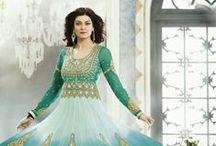 Sushmita Sen Collection /  Anarakali Suit, designer salwar kameez, Floor length Anarkali Suit for wedding, party