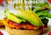Healthy veggie recipes / Healthy eating ideas and recipes - all vegetarian!