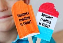 Summer Reading / Summer reading lists for kids, summer books, summer reading programs, summer fun all around.