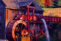 Mills and Water Wheels