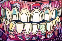 all things dental / teeeeeeth / by Christina A