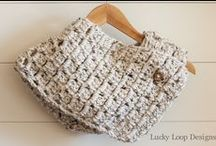 Lucky Loop Designs / Hand made crochet items by Lucky Loop Designs / by Alexis Schell