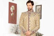 Men Ethnic Wear / Sherwani, Kurta Pajama, Kurta Pajama with Jacket, Dhoti Style Sherwani