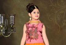 Kids Wear Anarkali Dresses / Anarkali Dresses for kids has unique combination of design and fashion in IndianTrendz collection. Kids wear anarkali dresses with churidar style for indian wedding or funcation.