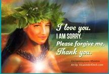 ★❀҉ƸӜƷ Ho'oponoponoƸӜƷ҉❀★ / I Love You, I'm Sorry, Please Forgive Me, Thank You Ho'oponopono By Dr. Joe Vitale.......The purposes of Ho'oponopono:夏威夷零極限歐波諾波諾 1) To connect with the Divinity within on a moment-to-moment basis;  2) To ask that movement and all it contains, be cleansed.  / by Claudia Drew-Parker
