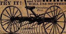 Antique Farm Equipment & Tools