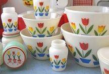 Fire King & Jadeite Mugs & Dishes