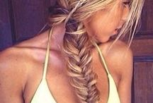 • Hair Styles • / Pretty hairstyles I love. Braids / highlights / lowlights / wave / curls / wedding hairstyles / blondes / brunettes / and more