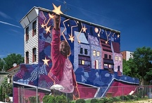 Big City Murals / When we moved our son to Philadelphia, I was so impressed with all of the murals throughout the city on almost every city block. Beautiful pieces of art for everyone to enjoy!