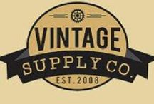 Vintage Supply Co. / Vintage and Handmade items in my etsy shop.