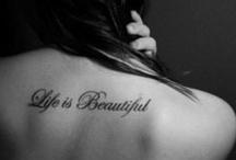Tattoos / by Elizabeth Marra
