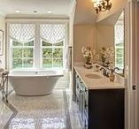 Masterful Baths / Spacious walk-in showers. A rain forest shower head. Jetted tubs that sooth. Generous walk-in closets with cavernous built-in storage that adjoin your bath. All are possible in the spa-like master baths of today's new homes.