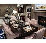 Dazzling Dining Rooms / Gathering friends and family around the table is a timeless tradition. Here are some gorgeous dining rooms for memorable holiday meals--and everyday repasts, as well.