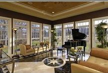 Stylish Sunrooms & Porches / Sun rooms and porches offer inspiring spaces that combine the best of indoor and outdoor living. It's no wonder that so many home buyers look for a stylish sun room or an inviting porch in their new home.