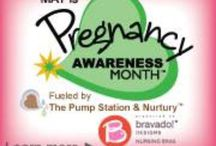 PAM - Pregnancy Awareness Month / May is Pregnancy Awareness Month! #CelebrateMama #Nurturenow