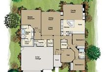 Fabulous Floorplans / Picking just the right floorplan -- flowing and open, for the way we live today -- is a key part of the fun of building your new home. Pin, plan and share! / by New Home Source