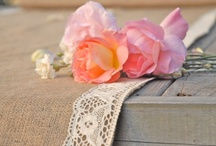 A Bevy of Burlap / Burlap is such a hot trend and pairs well with DIY weddings as well as rustic-elegant themes.