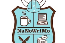 """NaNoWriMo / We partnered with the Office of Letters and Light-- the geniuses behind the month-long novel-writing challenge NaNoWriMo-- to bring a series of NaNoWriMo hacks to the Library as Incubator Project throughout November!  From ideas for how to organize your """"stuff"""" to great books on the craft of writing, our series can help you make writing a 50,000 word novel in 30 days even more fun and interesting. / by IArtLibraries"""