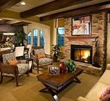 Fireplaces / Indoors and out, fireplaces add warmth, light and character to your home. These inspiring fireplaces from some of today's top home builders are designed to spark your imagination.