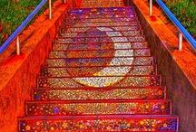 Stair risers / by Reyna Hammer