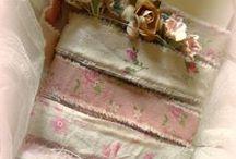 Vintage Ribbon & Fabrics