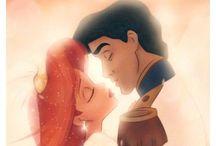 Little mermaid/ Disney obsession <3 / by Elizabeth Frintner
