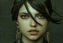 REF [female face]