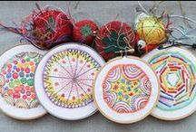 embroidery hoop art / by Off With The Pixies