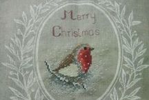 Celebrate Christmas: Embroidery / by Victory Nichols