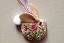 Celebrate Easter: Embroidered Eggs / by Victory Nichols