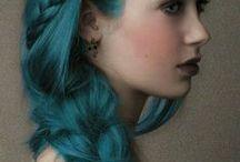 Blue Hair for Mary
