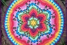 crochet mandalas + flowers / Patterns, tutorials and inspiration for crochet mandalas, circles, doilies, coasters and flowers.  / by Suosaari