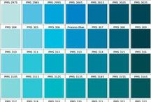 aqua + turquoise + teal