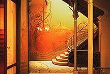 Art Nouveau / by Amy Ewing