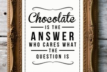Chocolate Love / This board is dedicated to chocoholics everywhere (we know how you are!) / by Retrotrace Vintage