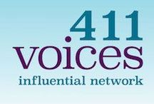 411 VOICES - INFLUENTIAL NETWORK  (411VOICES.com) / Women experts who are the go to resource center!  Help with biz, social media, education and life leadership #SocialTV  #SocialGood #Speakers #Entrepreneurs #Digital #SocialMediaExperts / by Louise Sattler / SigningFamilies.com