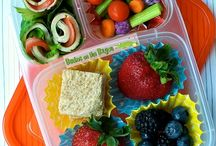 Lunch Kit Inspiration / Healthy, easy and creative lunch box ideas. / by Lora Carroll