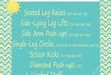 Workouts / Collection of workouts that I would like to maybe try / by Clarinda