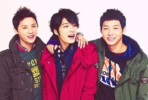 JYJ / JYJ is a 3 member boy band formed from a former 5 member group called Tohoshinki(TVXQ/DBSK). After leaving SM Entertainment Jaejoong( 26),Yoochun (26) and Junsu(25) formed JYJ ( Whch stands for the first letters of their names) under C-JeS Entertainment debuting in japan with their world album The Beginning in October 2010 which sold over 7 million copies and reach number 1 on the Oricon Album charts.