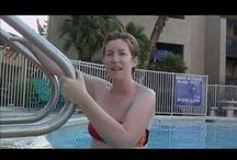 In the Water / Collection of workouts done in the pool / by Clarinda