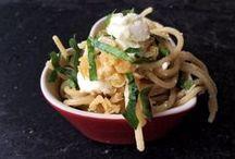 Pastamaniac: Pastarezepte aus meinem Blog / Alle Rezepte aus meinem Blog - hier dreht sich alles um die Nudel. Pastarezepte, schnell gekocht, lange dauernd, vegetarisch, mit Fleisch, teils vegan, neue Geschmackskomponenten.