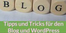 Blog: WordPress etc. / Tipps und Tricks rund um WordPress und anderen Dingen für meinen Blog.