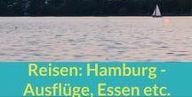 Reisen: Hamburg / Hamburg: Ausflüge in einer der schönsten Städte Deutschlands, Tipps für Restaurants und Cafés, das alles auf dieser Pinnwand.