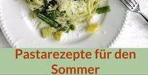 Rezepte: Pasta, Sommer