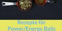Rezepte: Powerballs, Energiekugeln, Müsliriegel / Rezepte für: Powerballs, Energyballs, Energiekugeln und Müsliriegel