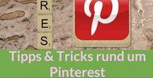 Pinterest: Tipps & Tricks / Lieblingstool Pinterest: Wie man Pinterest am besten nutzt, welche Tricks es gibt, Ideen rund um Pinterest, das alles auf diesem Board.