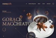 Food and Drink Web Design