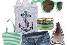 summer clothing  / by Traci Romanchuk