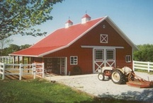 Barns, coops & sheds. / by Ronna Harness-Barber